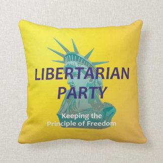TEE Libertarian Party Throw Pillow
