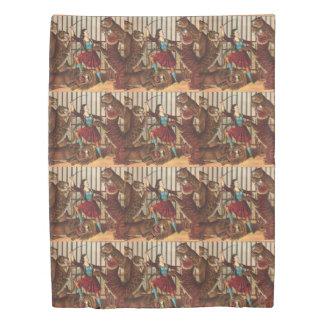 TEE Lion Queen Duvet Cover