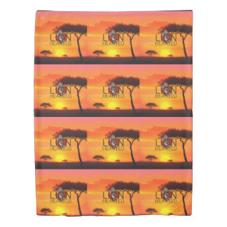 TEE Lionhearted Duvet Cover