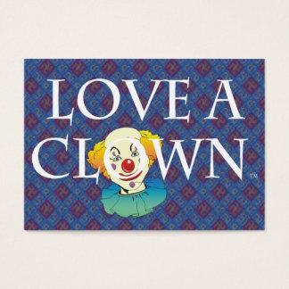TEE Love A Clown Business Card