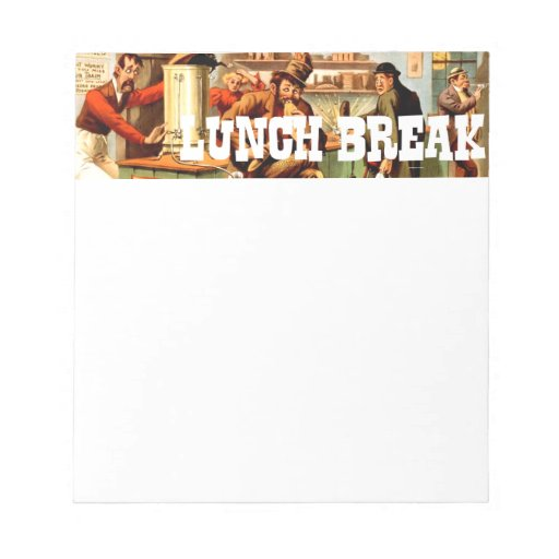 memo about lunch breaks | just b.CAUSE