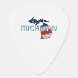 TEE Michigan Patriot Guitar Pick