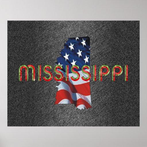 TEE Mississippi Patriot Poster