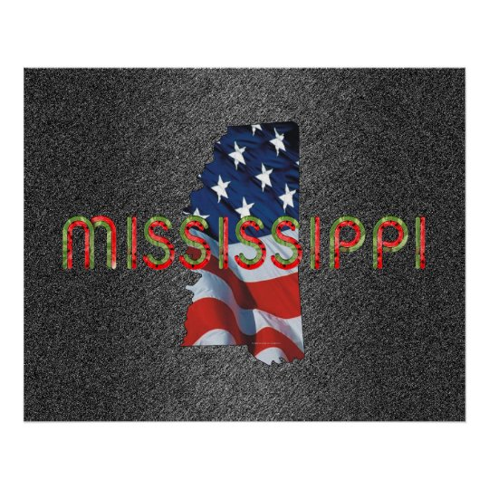 TEE Mississippi Patriot Poster