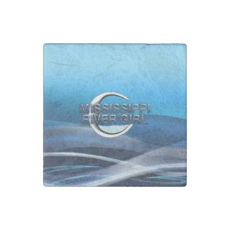 TEE Mississippi River Girl Stone Magnets