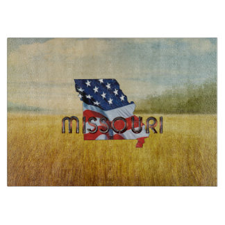 TEE Missouri Patriot Cutting Board