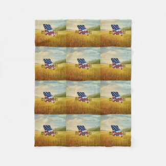 TEE Missouri Patriot Fleece Blanket