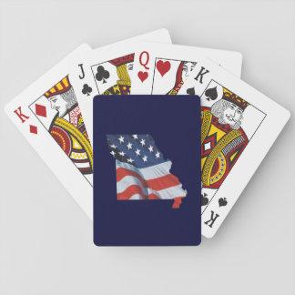 TEE Missouri Patriot Playing Cards
