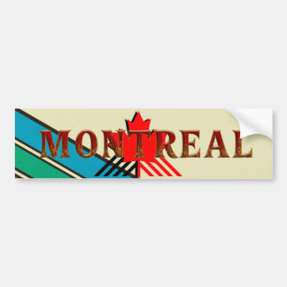 TEE Montreal Bumper Sticker