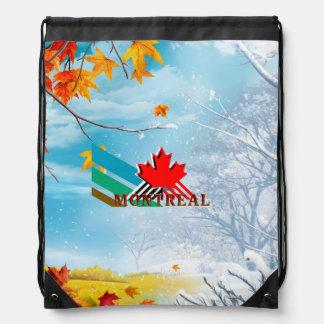 TEE Montreal Drawstring Bag