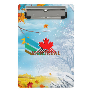 TEE Montreal Mini Clipboard