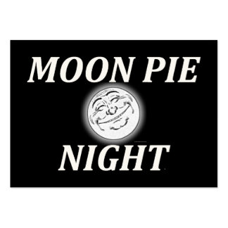 TEE Moon Pie Night Large Business Card