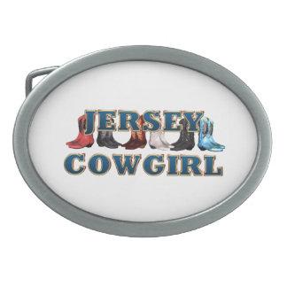 TEE New Jersey Cowgirl Belt Buckles