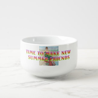 TEE New Summer Friends Soup Mug