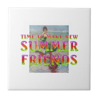 TEE New Summer Friends Tile