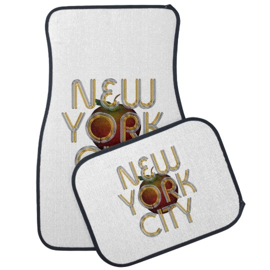 TEE New York City Car Mat