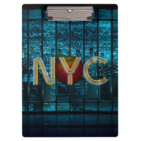 TEE New York City Clipboard