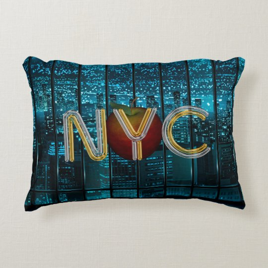 TEE New York City Decorative Pillow