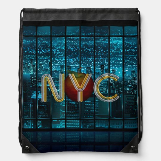 TEE New York City Drawstring Bag