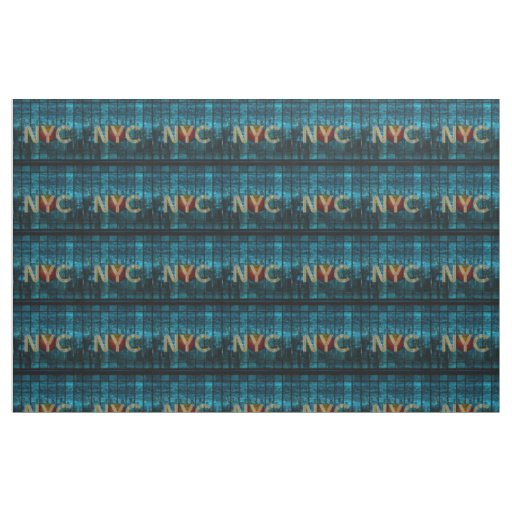 TEE New York City Fabric