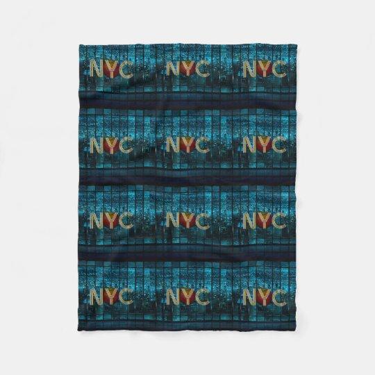 TEE New York City Fleece Blanket