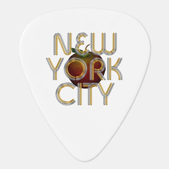 TEE New York City Guitar Pick