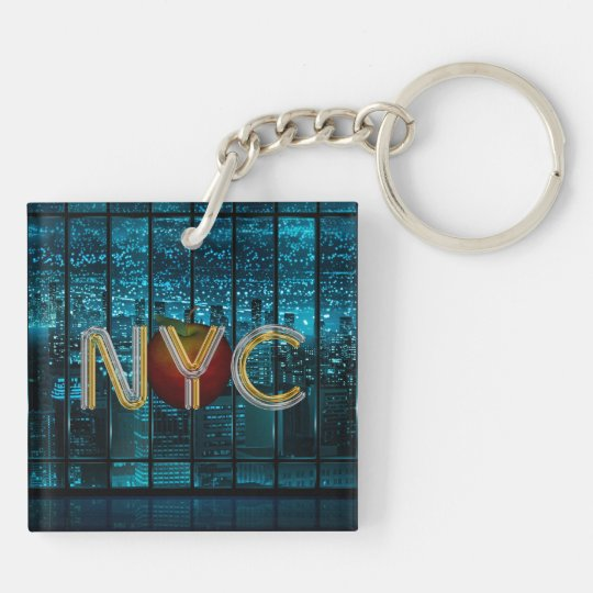 TEE New York City Keychain