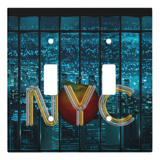 TEE New York City Light Switch Cover