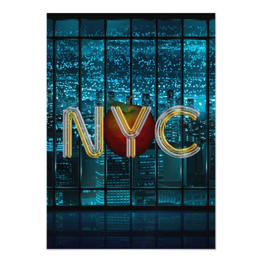 TEE New York City Magnetic Card