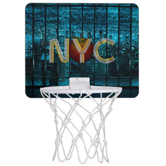 TEE New York City Mini Basketball Hoop