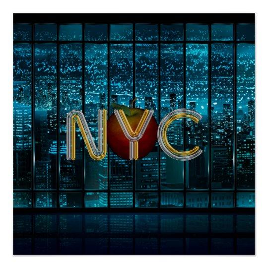 TEE New York City Poster
