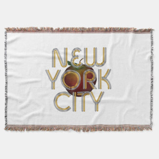 TEE New York City Throw