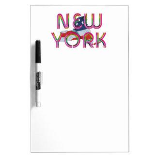 TEE New York Patriot Dry Erase Board