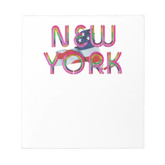 TEE New York Patriot Notepad
