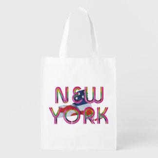 TEE New York Patriot Reusable Grocery Bag