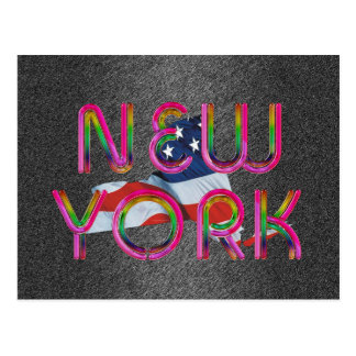 TEE New York Postcard