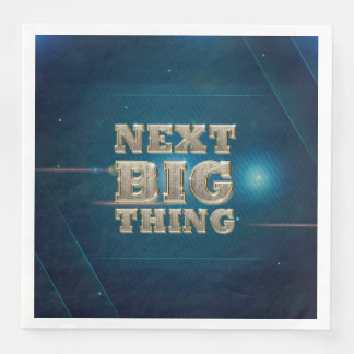 TEE Next Big Thing Disposable Napkins