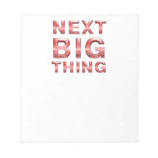 TEE Next Big Thing Notepad