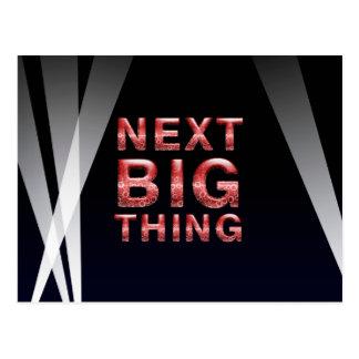 TEE Next Big Thing Postcard