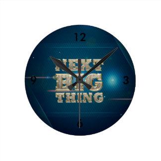 TEE Next Big Thing Round Clock