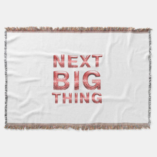TEE Next Big Thing Throw Blanket