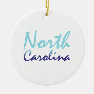TEE North Carolina Ceramic Ornament