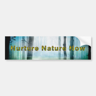 TEE Nuture Nature Now Bumper Sticker