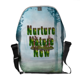TEE Nuture Nature Now Courier Bags