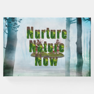 TEE Nuture Nature Now Guest Book