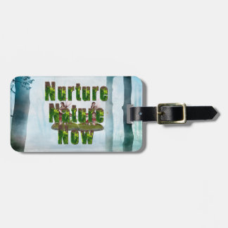 TEE Nuture Nature Now Luggage Tag