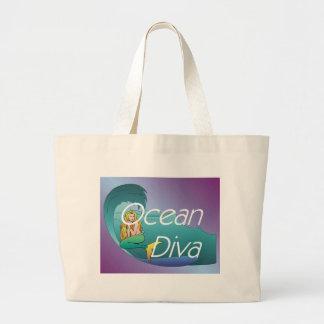 TEE Ocean Diva Large Tote Bag