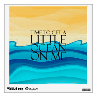 TEE Ocean of Me Wall Sticker