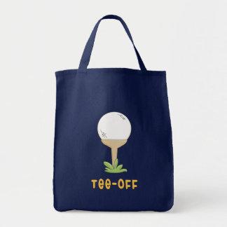 Tee Off Tote Bag