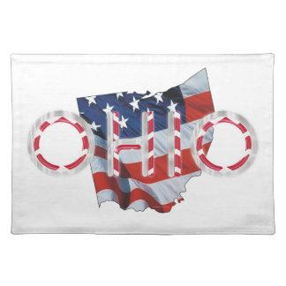 TEE Ohio Patriot Place Mats